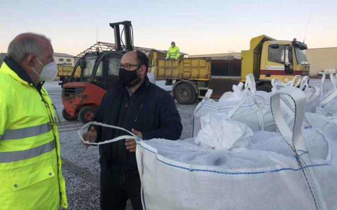 La DPT refuerza el operativo ante las previsiones de nevadas generalizadas y copiosas