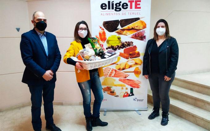 La campaña 'EligeTe' se cierra con la entrega del último lote de productos de Alimentos de Teruel