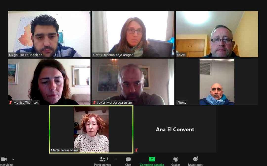Representantes de los hoteles rurales del Matarraña, Maestrazgo y Bajo Aragón trasladan su quejas a la DPT