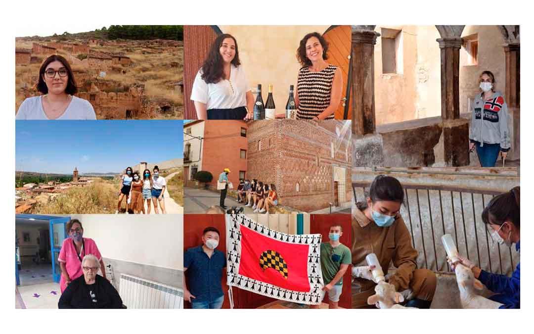 Algunas de las participantes del Erasmus Rural de 2020.