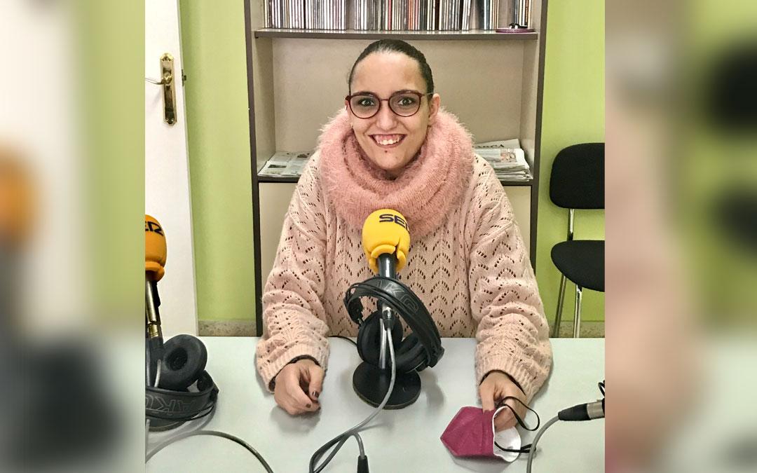 La caspolina Laura Piazuelo./ L.C.