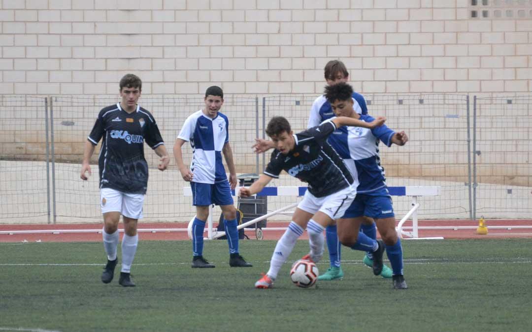 El Alcañiz de la Liga Nacional Juvenil vuelve a competir en Santa María. Foto: L.C.