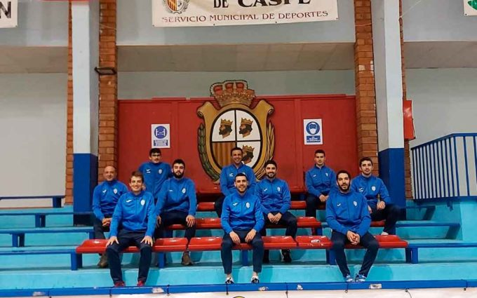 El FS Caspe retoma la competición en 2021 con el tercer puesto en Tercera División