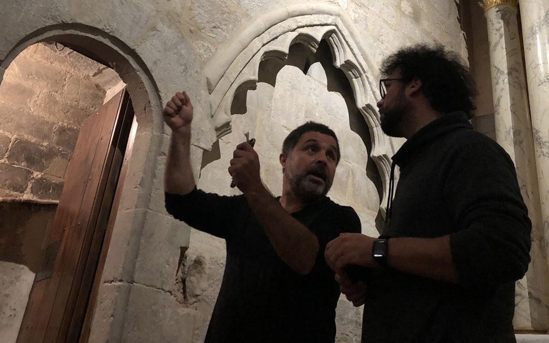 José Ángel Guimerá, en uno de los escenarios que aparecen en el documental. / pierresvedel.com