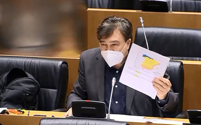 Teruel Existe denuncia ante la Ministra Ribera el agravio que sufre el medio rural ante los temporales