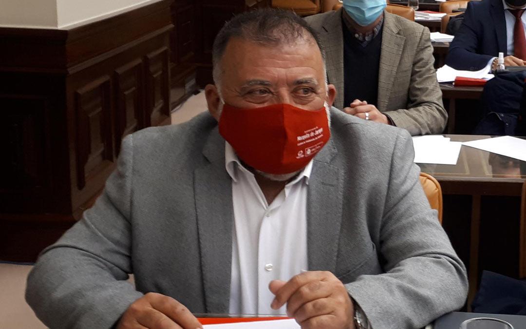 El diputado Herminio Sancho, durante la Comisión de Agricultura./PSOE