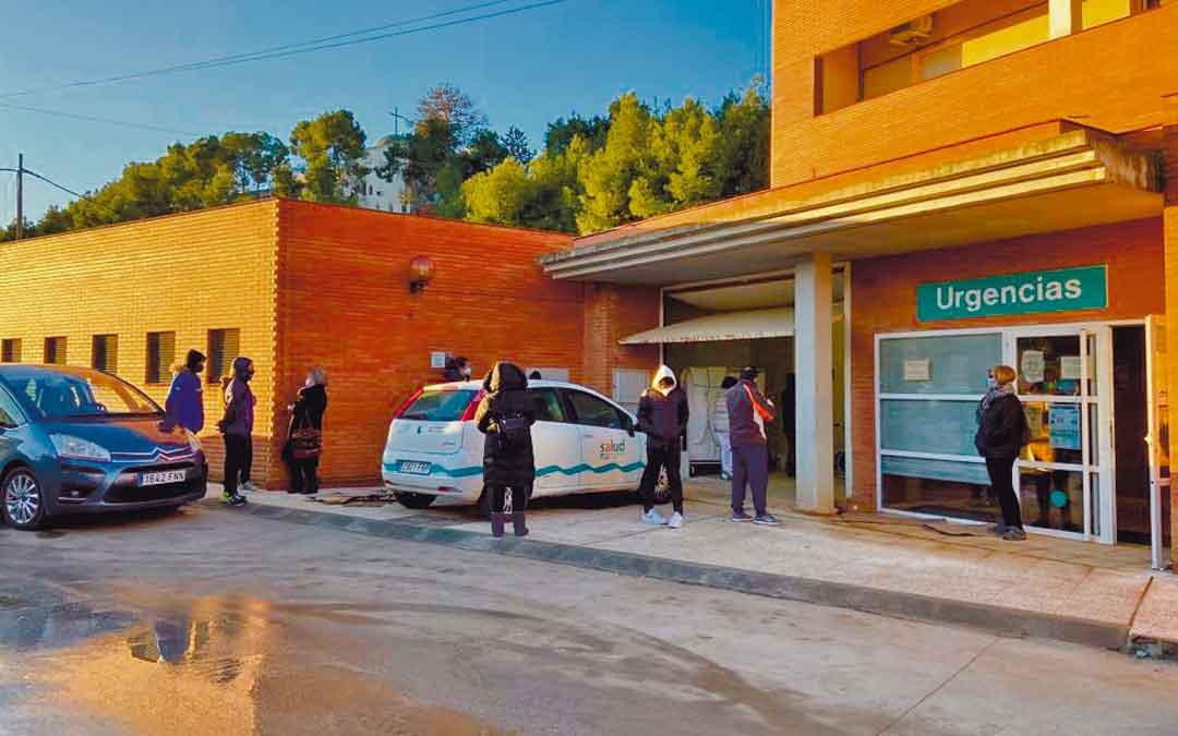 El centro de salud de Híjar el pasado viernes. / ALICIA MARTÍN