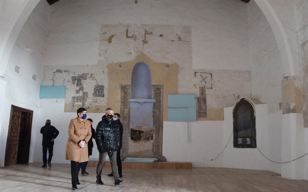 Concluye la rehabilitación de la sinagoga de Híjar tras 11 años cerrada