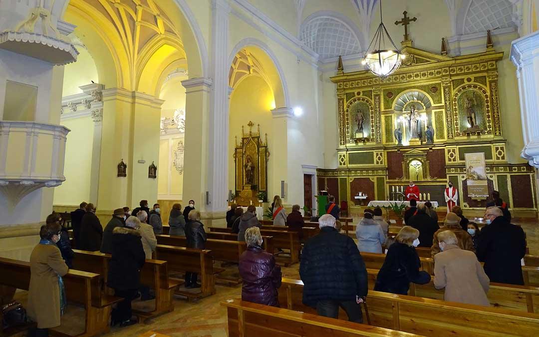 Misa baturra por San Sebastián./ Facebook Ayto. Alcorisa