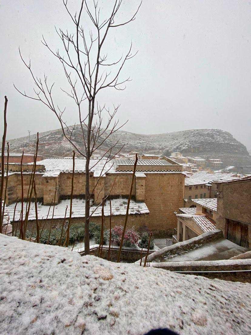 Nieve en Molinos./ Molinos Turismo
