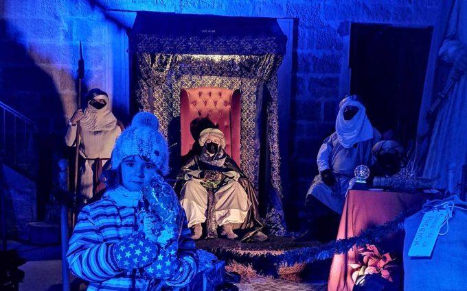El Paje Real recoge las cartas de unos 500 niños en Alcañiz