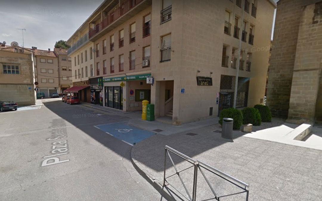 La plaza Santo Domingo de Alcañiz / Google Maps