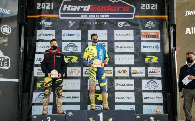 Raúl Guimerá vence en la primera carrera del campeonato de España de Hard Enduro