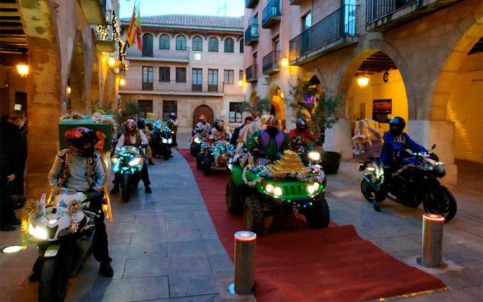 El cariño de Melchor, Gaspar y  Baltasar llega al Bajo Aragón Histórico a pesar de la distancia