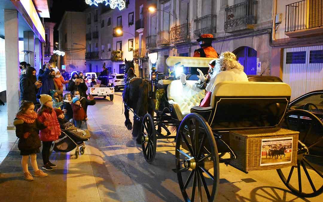 Los Reyes Magos en Caspe.