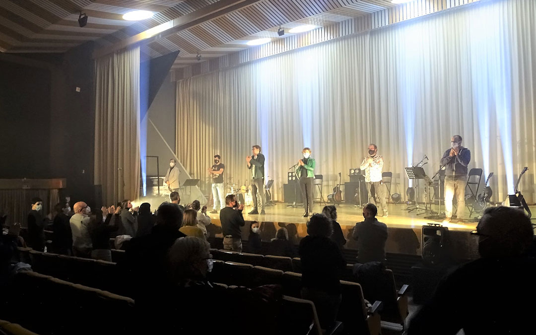 Concierto de 'Subrayado de verde' en la sala Alcor 82./ Facebook Ayto. Alcorisa