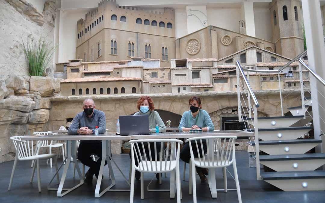 Los empresarios han ofrecido una rueda de prensa online desde Hotel El Salt de Valderrobres.