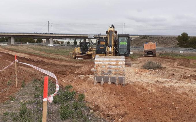 Arrancan las obras de la A-68 entre El Burgo y Fuentes