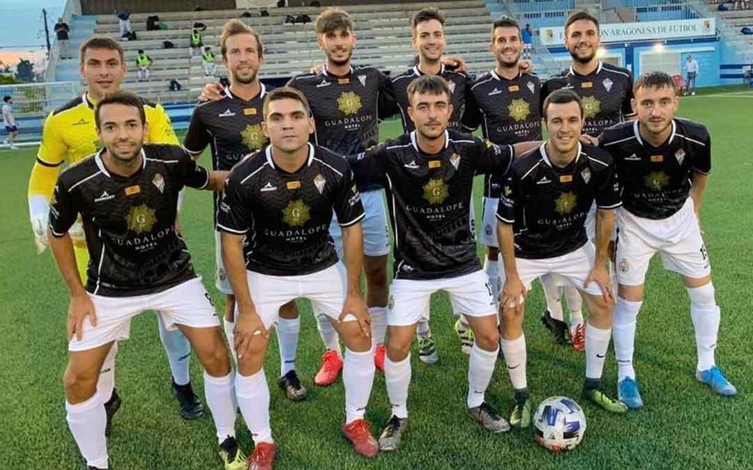 El Alcañiz como el resto de equipo del territorio está enclavado en el grupo 4. Foto: Facebook Alcañiz C.F.