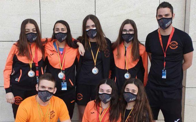 El Polideportivo Andorra cierra el Campeonato de España de Salvamento y Socorrismo con seis medallas de bronce