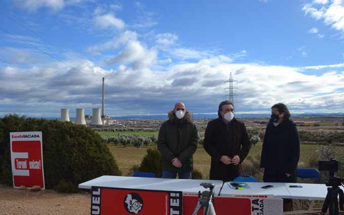 Teruel Existe y APUDEPA recurren al INAGA el desmantelamiento de la Térmica de Andorra