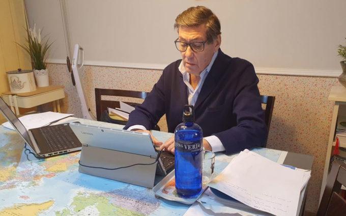 """Arturo Aliaga: """"El compromiso del Gobierno de Aragón con Motorland está terminantemente claro"""""""