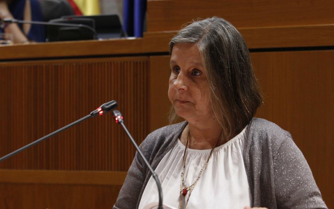 Imagen de archivo de Beatriz García, diputada de Ciudadanos./Cortes de Aragón