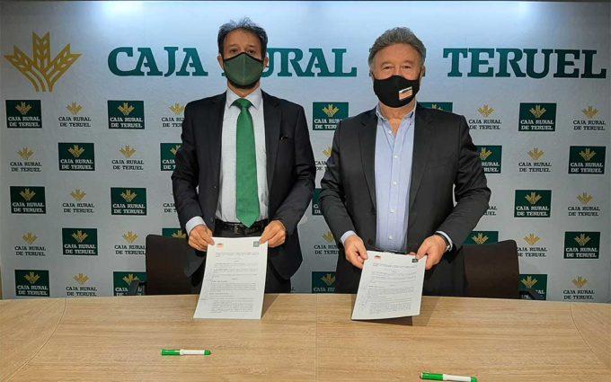 Caja Rural de Teruel participa en la adquisición de material para personas dependientes en Cuencas Mineras