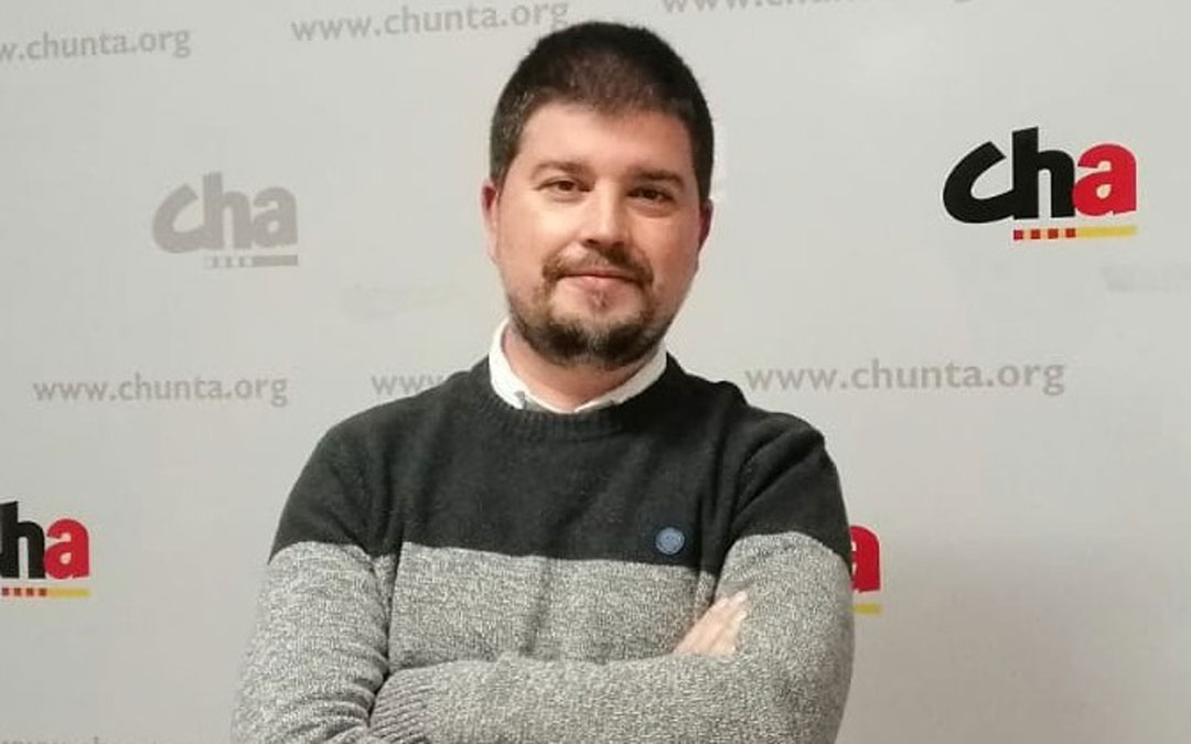 José Manuel Salvador es el secretario territorial de Chunta Aragonesista en las comarcas turolenses / CHA