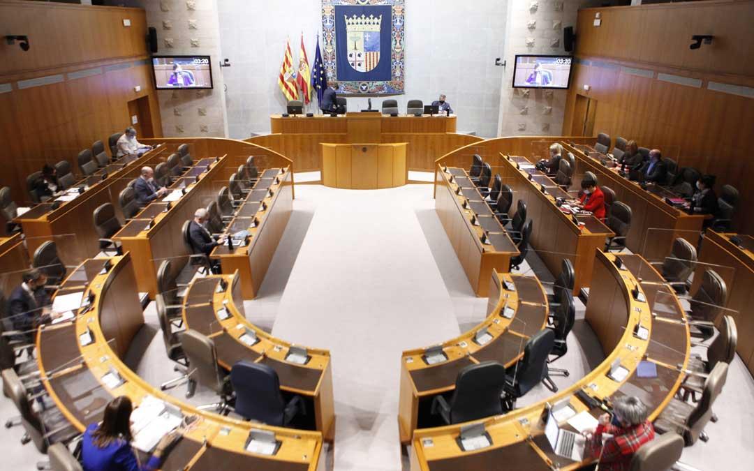 Comisión de Industria en las Cortes de Aragón./CORTES DE ARAGÓN