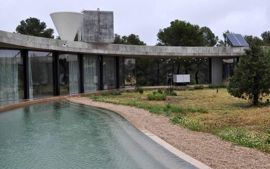 Imagen de la vivienda Solo Office ubicada en Cretas. Javier de Luna.