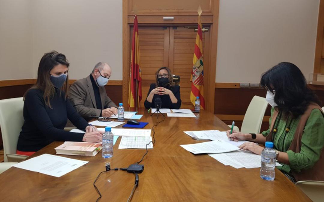 Reunión del Consejo de Cooperación Comarcal. / DGA