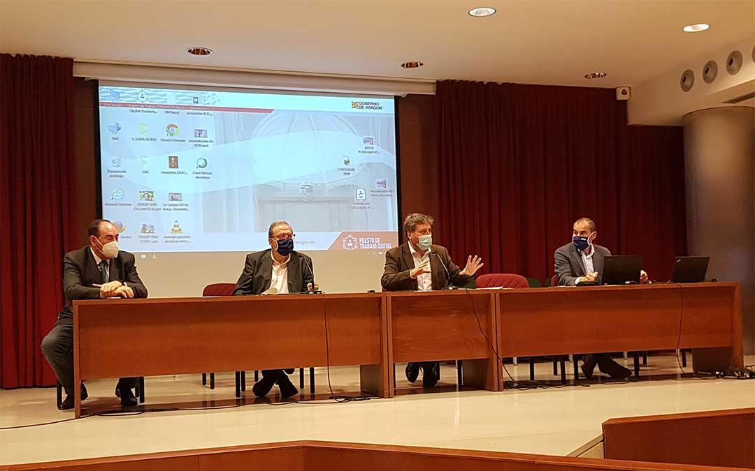 Presentación del Programa Ordinario de Inversión en carreteras./ DGA