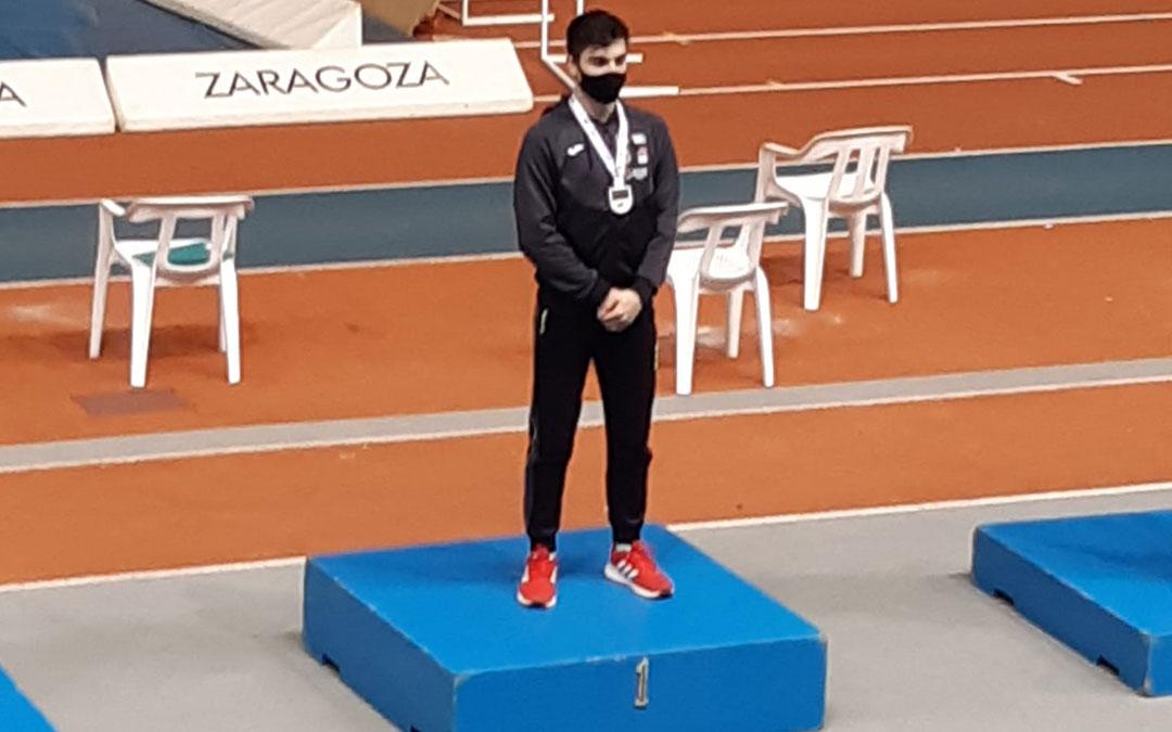 Diego Delgado, en el podio, este sábado./ C.D.