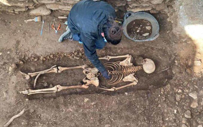 El ADN confirma la identidad del maqui Francisco Serrano