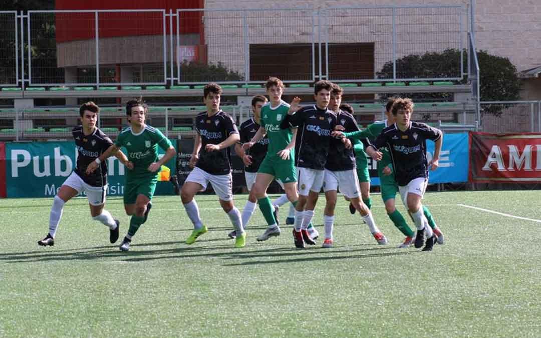 Un momento del partido que enfrentó al Stadium Casablanca ante el Alcañiz. Foto: P. G.
