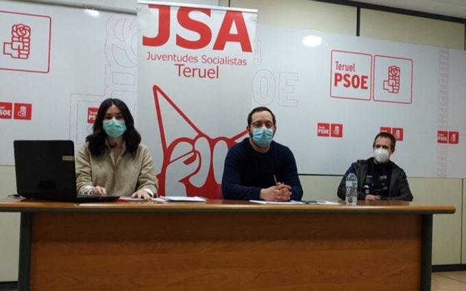 """El Comité Provincial de las Juventudes Socialistas de Teruel critica la """"radicalización de la política"""""""