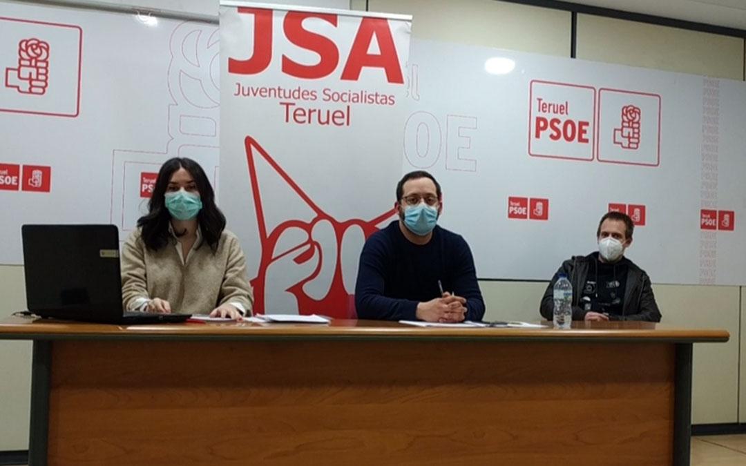 de las Juventudes Socialistas de la provincia turolense se celebró este domingo./ PSOE Teruel