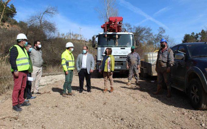 Avances positivos en los sondeos de la DPT para mejorar la cantidad y calidad del agua de Lledó y La Fresneda