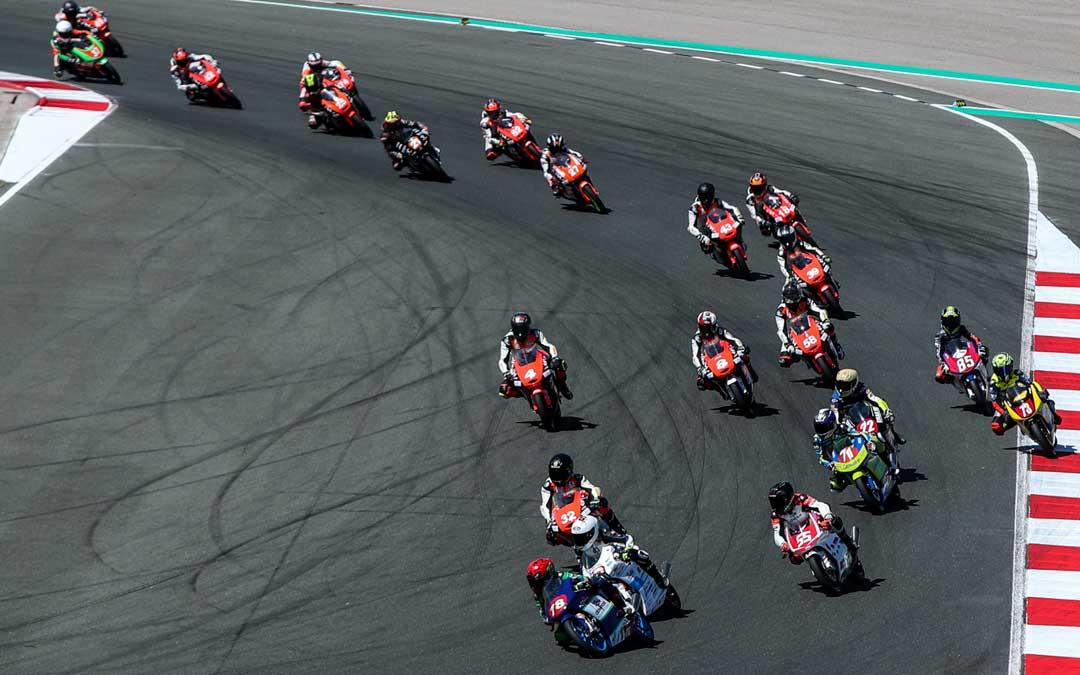 Cuna de Campeones es una de las modalidades promocionales del motociclismo nacional. Foto: I.T.