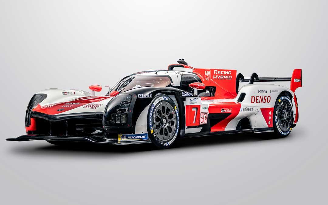 El nuevo Toyota con el que la marca nipona participará en el WEC. Foto: Toyota Gazoo Racing