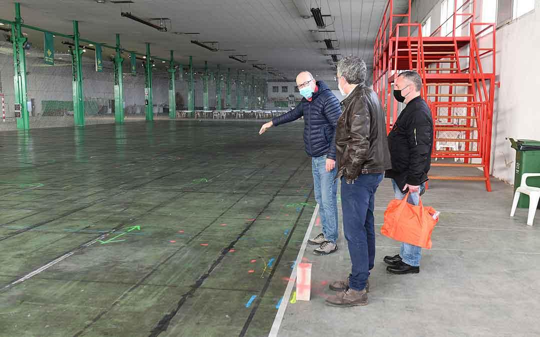 La pista de automodelismo indoor estará en el recinto ferial de Alcañiz. Foto: Ayto. Alcañiz
