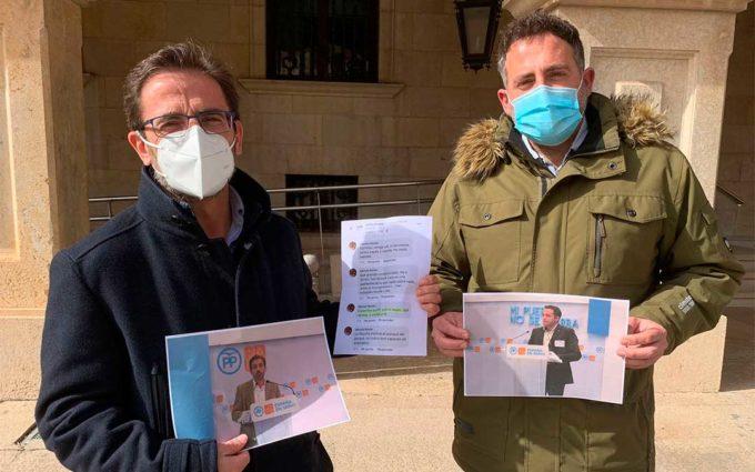 El PP denuncia que los municipios de Teruel llevan más de un año sin recibir de la Diputación ni un solo euro para inversiones