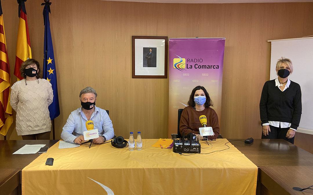 Invitados al programa especial de Radio La Comarca en la Comarca de Cuencas Mineras./ L.C.