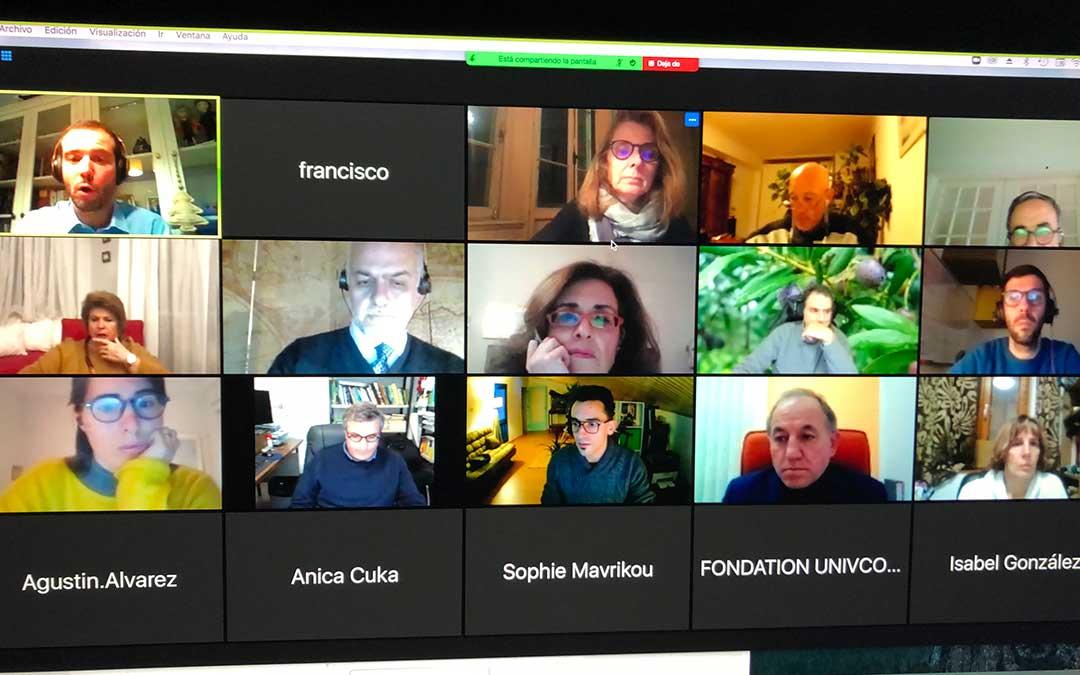 Reunión telemática de la REDN-SESPA./ Press REDN-SESPA