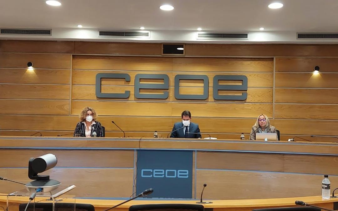 Presentación del informe desde Madrid por vía telemática./SSPA