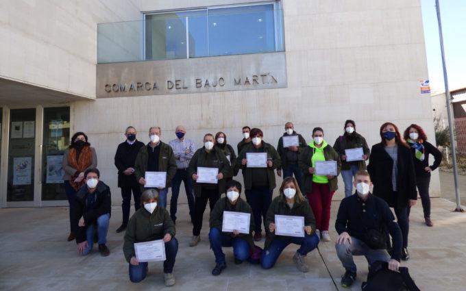 Clausura de Bajo Martín Natural, el Taller de Empleo que ha sacado el potencial verde de la comarca