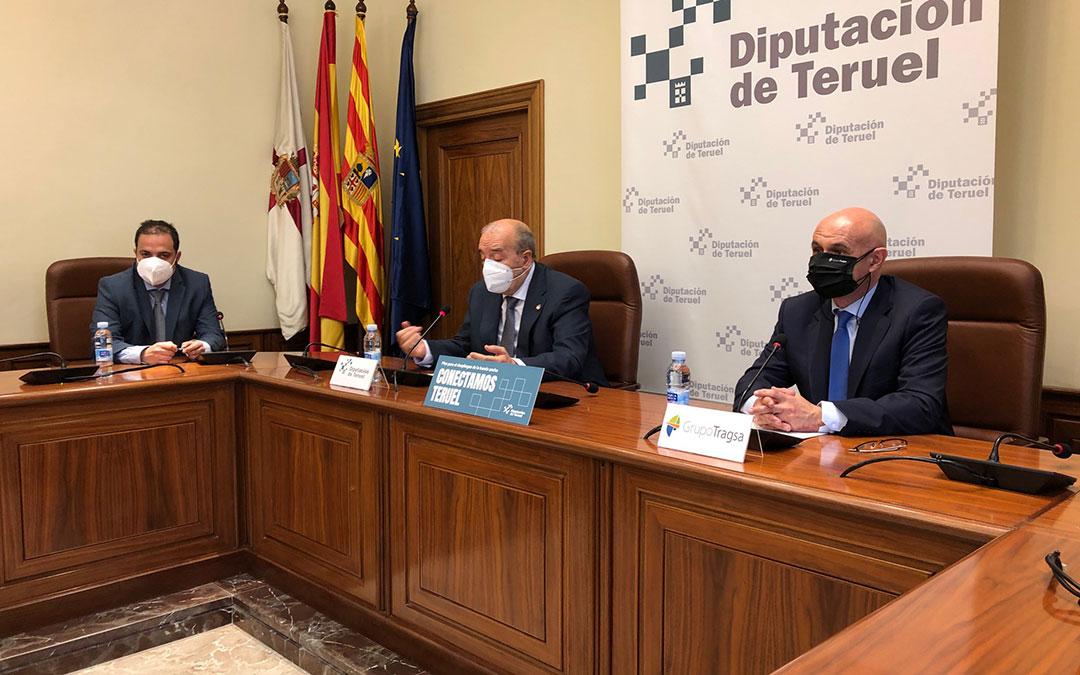 Presentación en Teruel del proyecto. /DPT