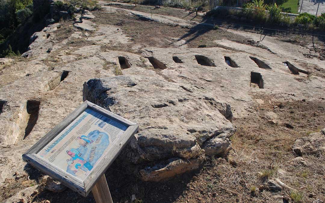 Lastras de San José en Albalate, una de las localidades en las que más han aumentado las visitas. / Parque Cultural
