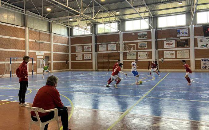 El Coras Futsal se impone al Zafán F.S. en La Puebla